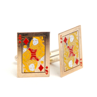 Cufflinks Card Queen