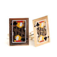 Cufflinks Card Knight