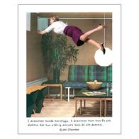 """Affisch Jan Stenmark """"Damma"""" pieni 24x30 cm"""