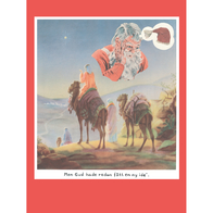 """Postcard Jan Stenmark """"Gud"""""""