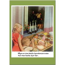 "Postcard Jan Stenmark ""Barndomsminnen"""