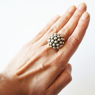 Ring Kulor, Sterling silver