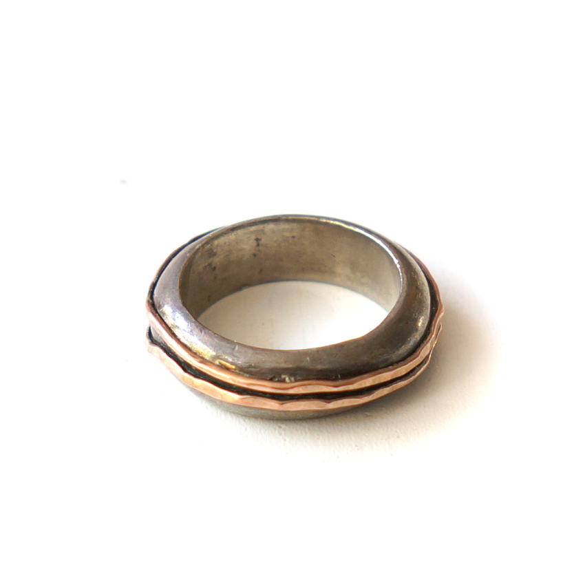 Ring Ribbon, Sterling silver