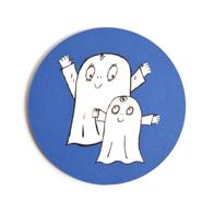 Lasinalunen Spöket Laban molemmat (tummansininen)