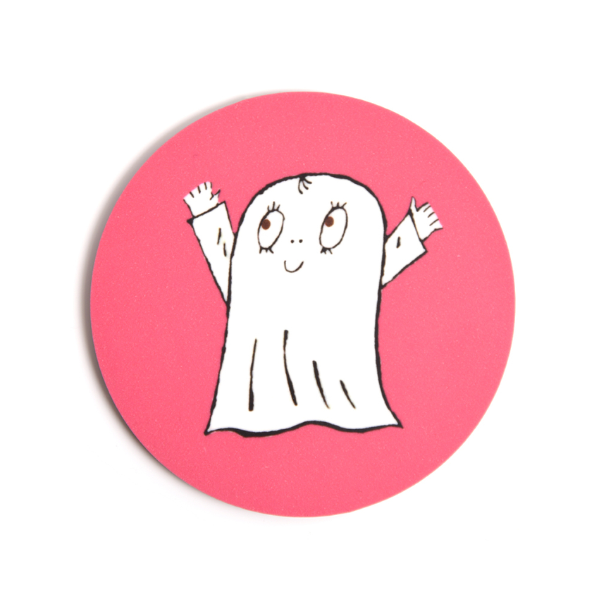 Coaster Spook Laban (pink)