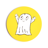 Coaster Spook Laban (yellow)