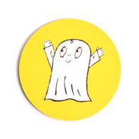 Lasinalunen Spöket Laban (keltainen)