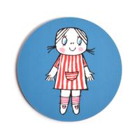 Coaster Lilla Anna (blue)