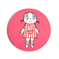 Coaster Lilla Anna (hot pink)