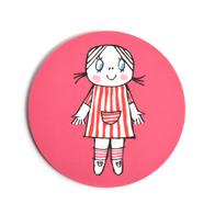 Lasinalunen Lilla Anna (pinkki)
