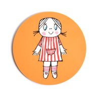 Coaster Lilla Anna (orange)