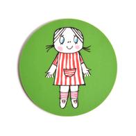 Lasinalunen Lilla Anna (vihreä)