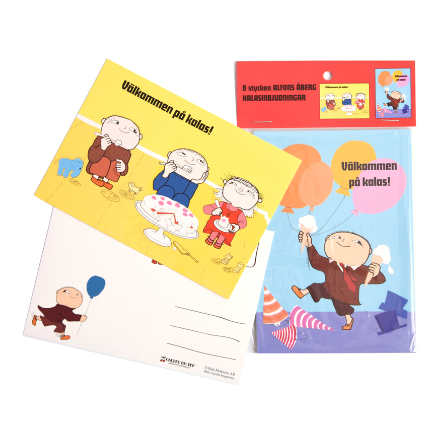 Party Invitation Mikko Mallikas 8 pcs