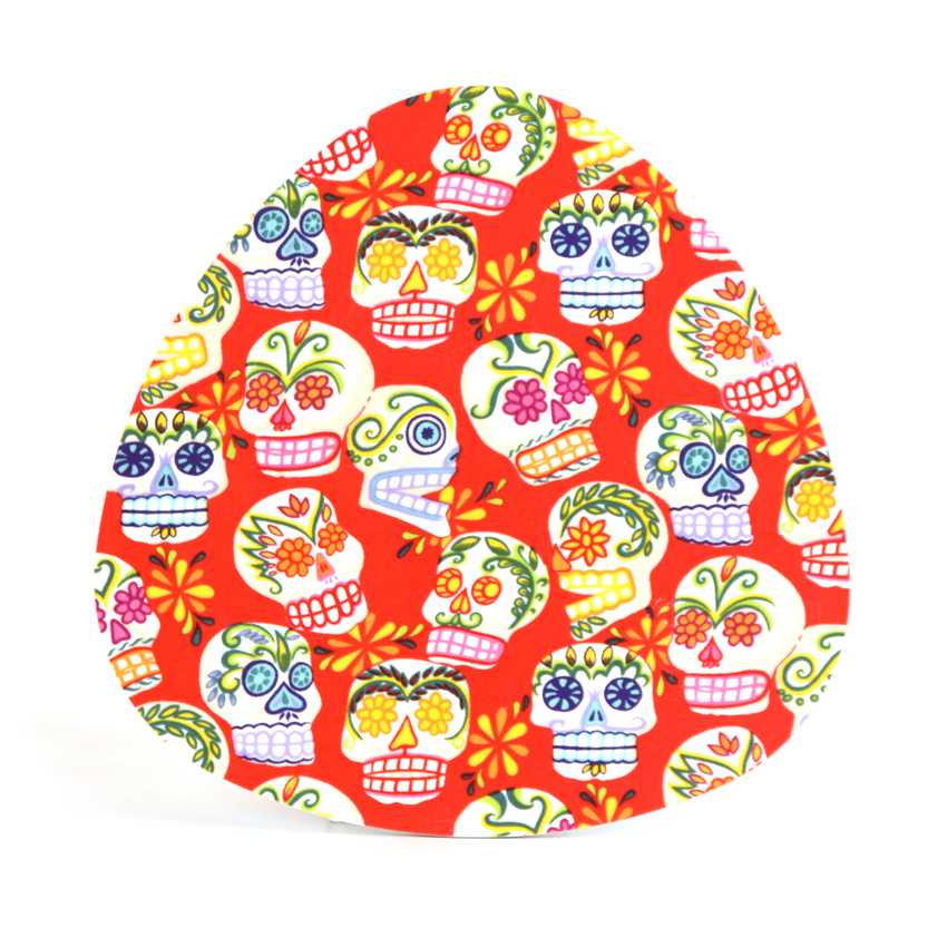 Pot Stand Sugar skulls (red)