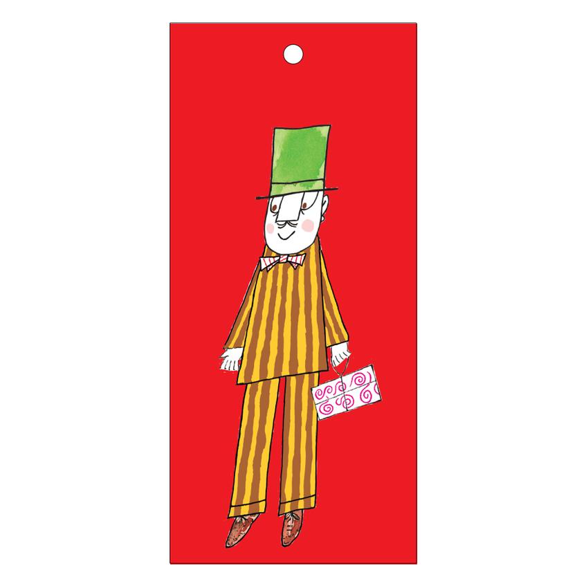 Paketkort Lilla Anna och Långa farbrorn