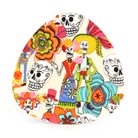 Pot Stand Day of the dead (beige)