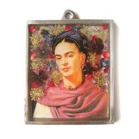 Väggprydnad glas Frida Kahlo