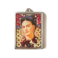 Seinä ornamentti glass Frida Kahlo