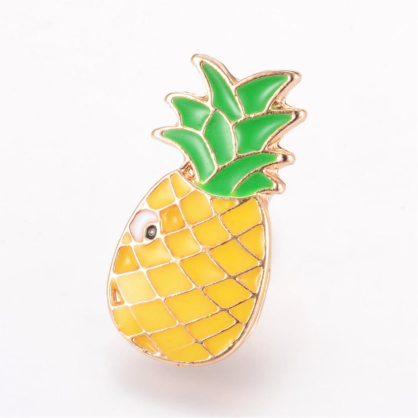 Brosch pin ananas