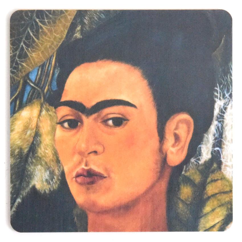Lasinalunen Frida Kahlo painting #11