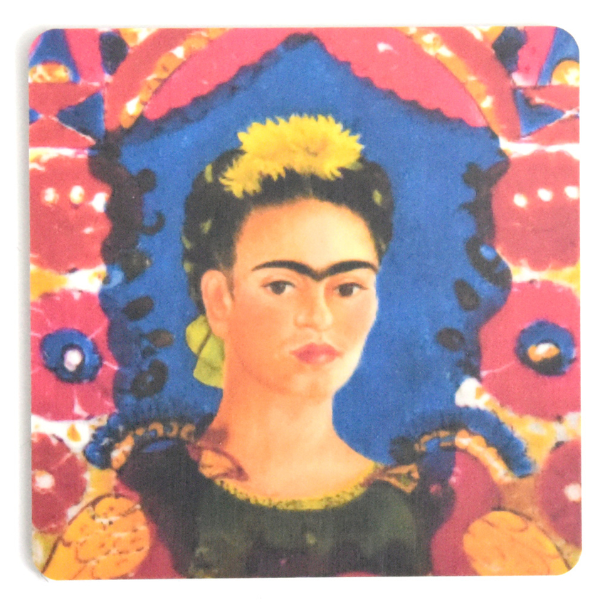 Coaster Frida Kahlo painting #12