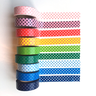 Paper tape washi, doted