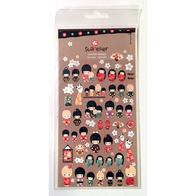 Stickers Kokeshi