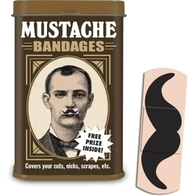 Band aid, Mustache