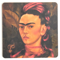 Coaster Frida Kahlo painting #13