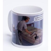 """Mugg Jan Stenmark """"Kaffe på sängen"""""""