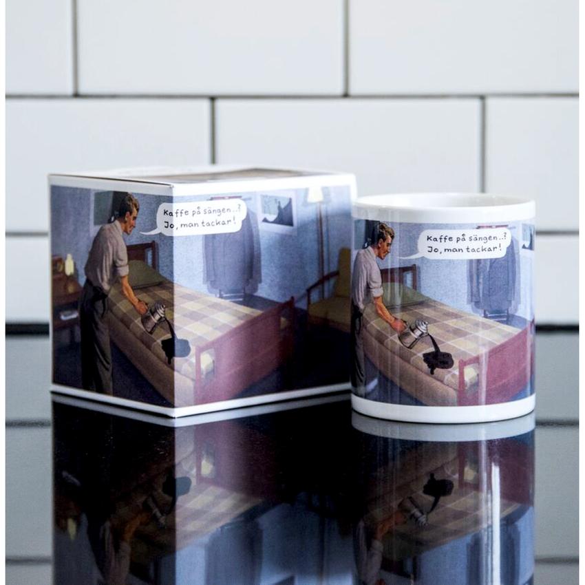 Mugg Jan Stenmark 'Kaffe på sängen'