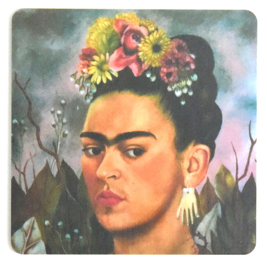 Coaster Frida Kahlo painting #14