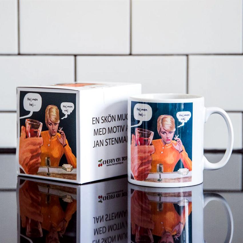 "Mug Jan Stenmark ""Hej men nej"""