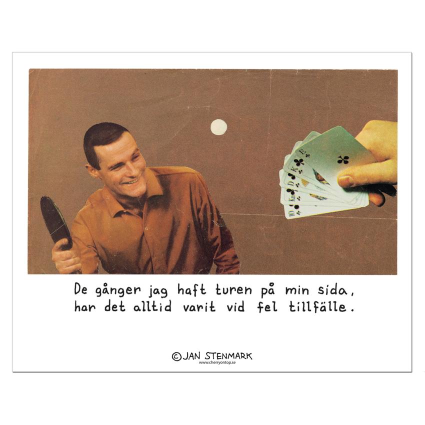 Affisch Jan Stenmark 'Turen' liten 24x30 cm