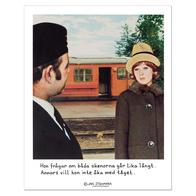 Affisch Jan Stenmark 'Skenorna' liten 24x30 cm