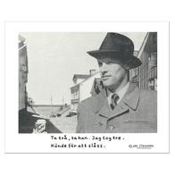 "Poster Jan Stenmark ""Tulo"" small 24x30 cm"