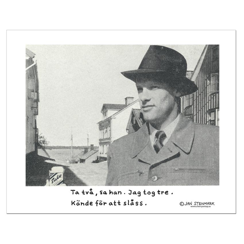Affisch Jan Stenmark 'Tulo' liten 24x30 cm