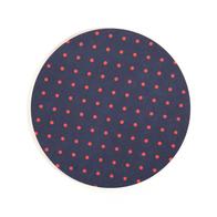Lasinalunen Pilkku pyöreä (tummansininen)