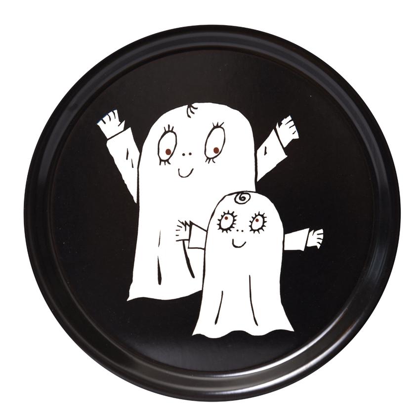 Round Tray 31 cm Spook Laban (black)