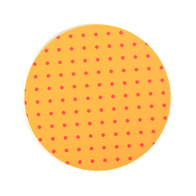 Coaster Dot round (orange)