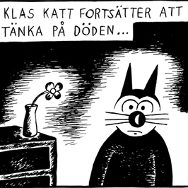 Magneetti Klas Katt 'Döden'