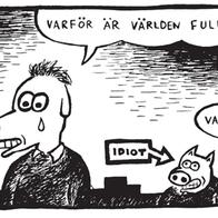 Magnet Klas Katt 'Idioter'