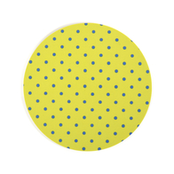 Coaster Dot round (lime)