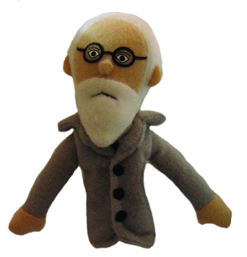 Freud fingerpuppet/magnet