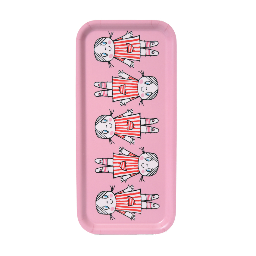 Tray 32x15 cm Lilla Anna (pink)