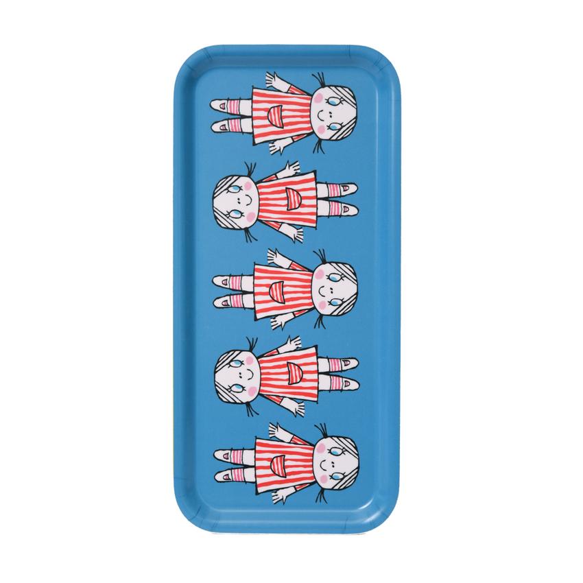 Tray 32x15 cm Lilla Anna (blue)
