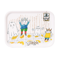 Tray 20x27 cm Spook Laban, castle