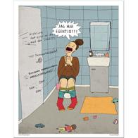 Poster Hej hej vardag 'egentid'