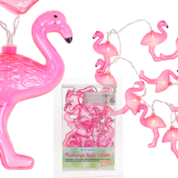 Ljusslinga med flamingo
