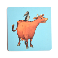 Coaster Mamma Moo and Crow (blue)